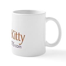 Purple Kitty small logo Mug