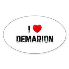 I * Demarion Oval Decal