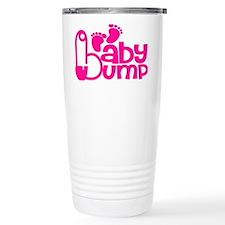 Hot Pink Baby Bump Travel Mug