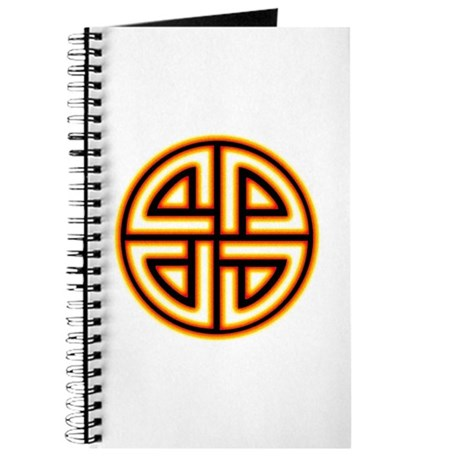 Flaming Shield Knot Journal
