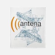 Antena logo Throw Blanket
