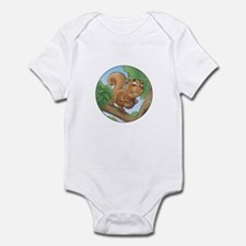Scrappy Squirrel's Infant Bodysuit