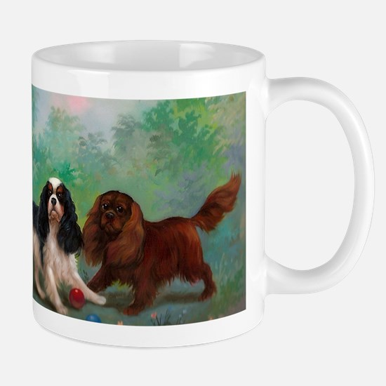 Cavalier King Charles Spaniels with Foa Mug