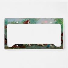 Cavalier King Charles Spaniel License Plate Holder
