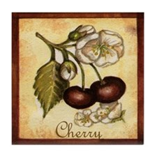 Cherry Tile Coaster
