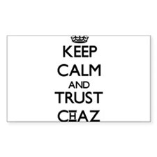 Keep Calm and TRUST Chaz Decal