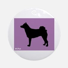 Norrbottenspets iPet Ornament (Round)