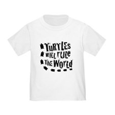 Toddler Turtles Will Rule The World T-Shirt