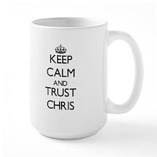 Keep Calm and TRUST Chris Mugs