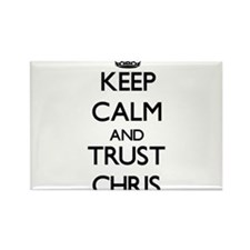 Keep Calm and TRUST Chris Magnets