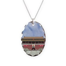 China, Beijing, Tiananmen Gate Necklace