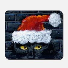 Kitty Claws Secret Santa Mousepad