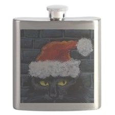 Kitty Claws Secret Santa Flask