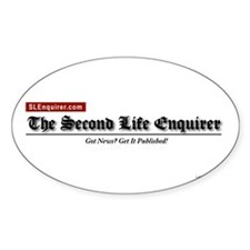 Official SLE Logo Oval Decal