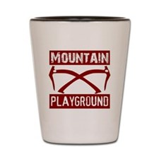 Mountain Playground Shot Glass
