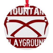 Mountain Playground Ornament