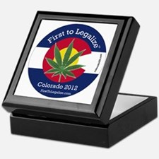 First to Legalize Keepsake Box