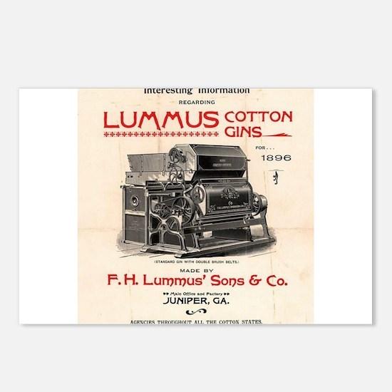 Lummus_Cotton_Gin_Advertisement 1896 Postcards (Pa