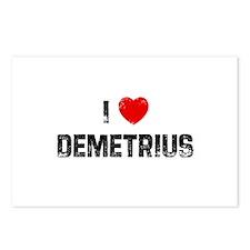 I * Demetrius Postcards (Package of 8)