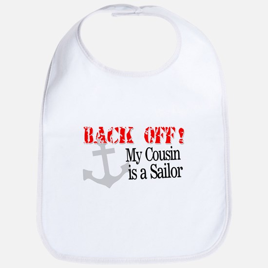 Back Off!-My Cousin is a Sailor is a Mari Bib