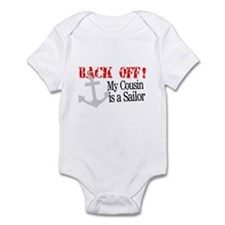 Back Off!-My Cousin is a Sailor Infant Bodysuit