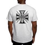 Power lifting Mens Classic Light T-Shirts