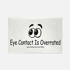 Eye Contact Rectangle Magnet