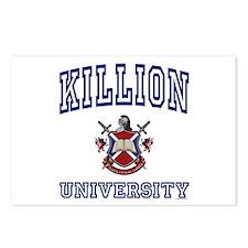 KILLION University Postcards (Package of 8)