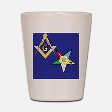 Masonic / Eastern Star Shot Glass