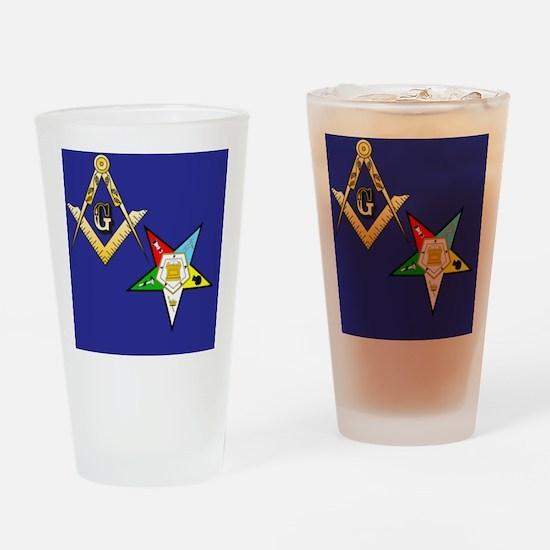 Masonic / Eastern Star Drinking Glass