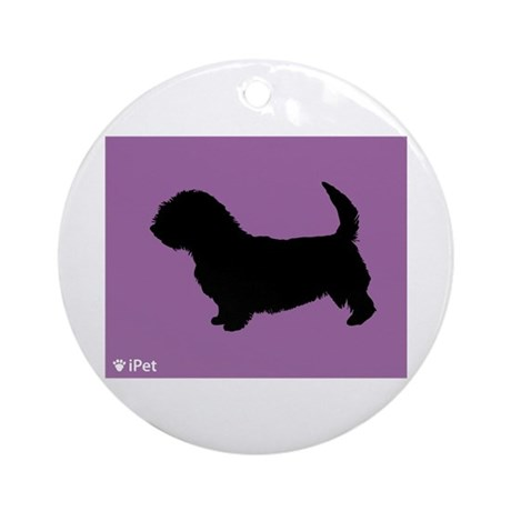 Glen iPet Ornament (Round)