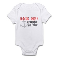 Back Off! My Brother is a Sai Infant Bodysuit