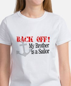 Back Off! My Brother is a Sai Women's T-Shirt