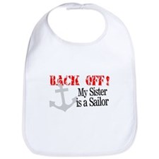 Back Off My Sister is a Sailo Bib