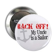 Back Off My Uncle is a Sailor Button
