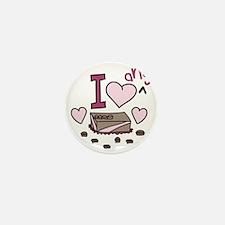 Love Any Chocolate Mini Button