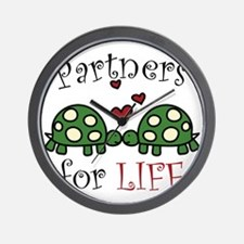 Partners For Life Wall Clock