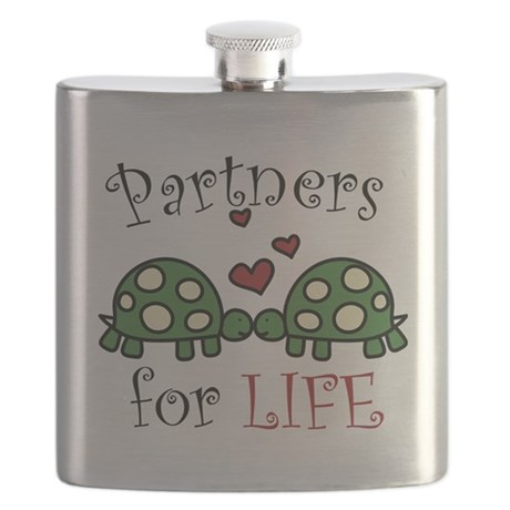 Partners For Life Flask