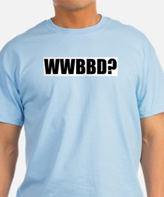 WWBBD? Light Blue T-Shirt