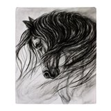 Horse lovers Fleece Blankets