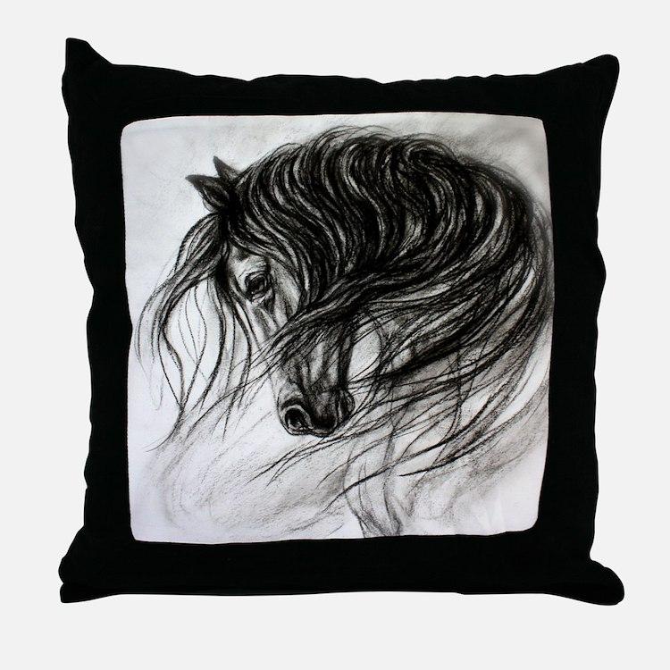 Decorative Pillows Horses : Horse Pillows, Horse Throw Pillows & Decorative Couch Pillows