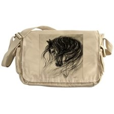 Mane Dance art Messenger Bag