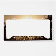 Sunset Venice Florida License Plate Holder