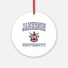 JAMERSON University Ornament (Round)