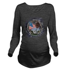 Obama re-elected: Long Sleeve Maternity T-Shirt