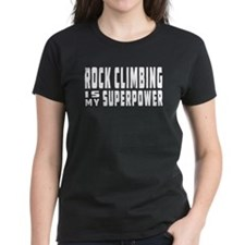 Rock Climbing Is My Superpower Tee