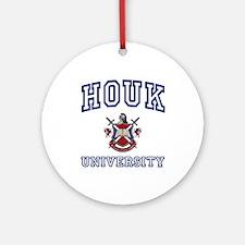 HOUK University Ornament (Round)