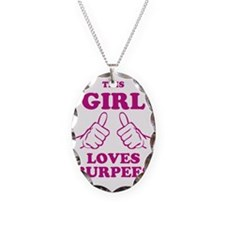 This Girl Loves Burpees Necklace
