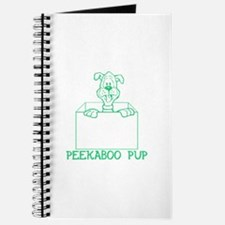 Peekaboo Pup Journal