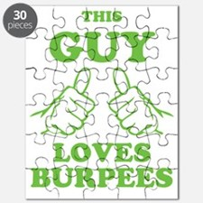 This Guy Loves Burpees Puzzle